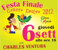 06-09-2012 – ore 18.00 – Festa Finale Centro Educativo Estivo 2012