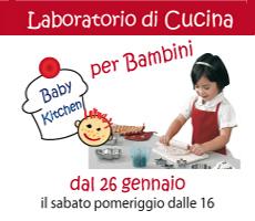 BABY KITCHEN – Laboratorio di Cucina per Bambini