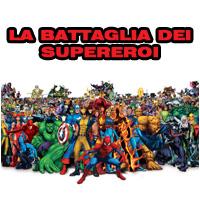 14-04-2013 – ore 15.30 – Festa per Bambini: La Battaglia dei Supereroi