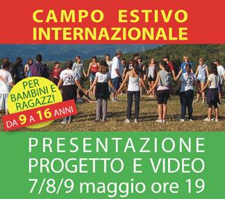 PRESENTAZIONE PROGETTO E VIDEO-PROMO DEL CAMPO ESTIVO 2013