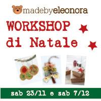 WORKSHOP RICICLO CREATIVO… di NATALE!!