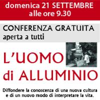 CONFERENZA – L'UOMO DI ALLUMINIO