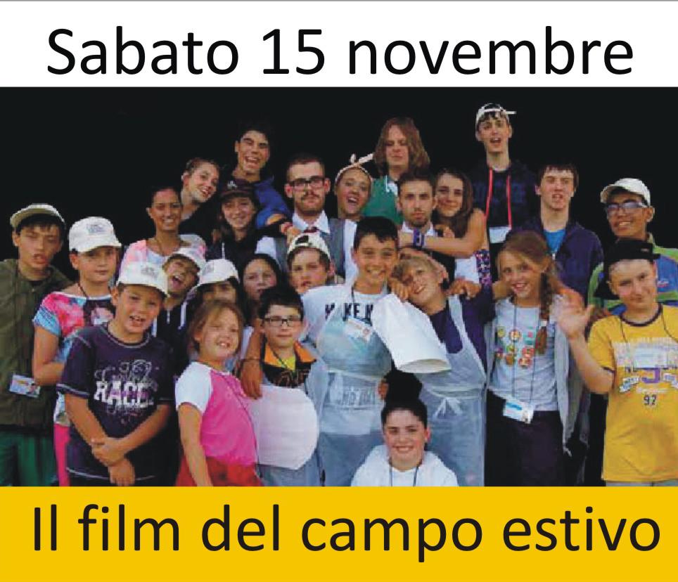 Proiezione Film Campo Estivo 2014