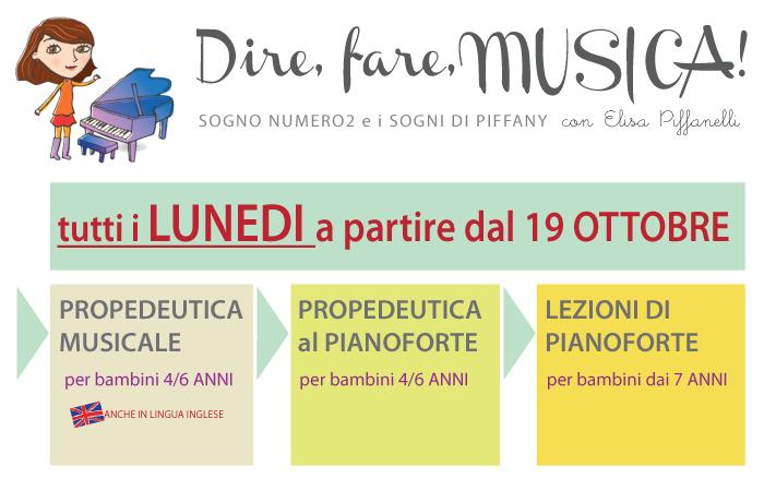 """CORSO DI PIANOFORTE CON IL """"METODO PIFFANY"""""""