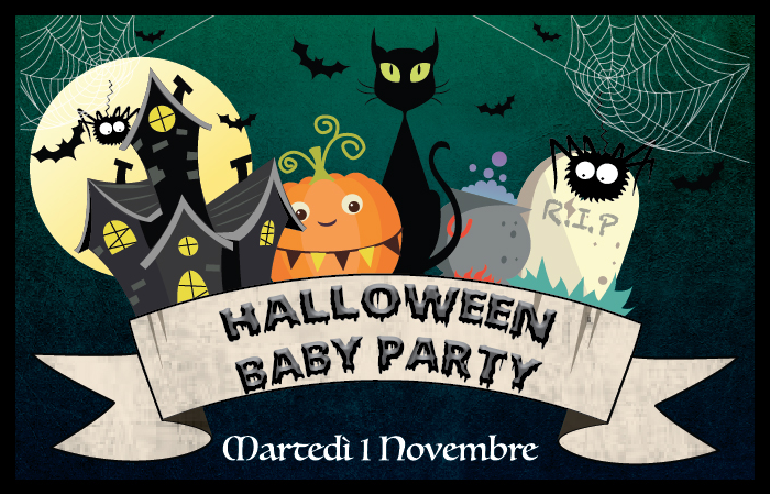 HALLOWEEN BABY PARTY 2016