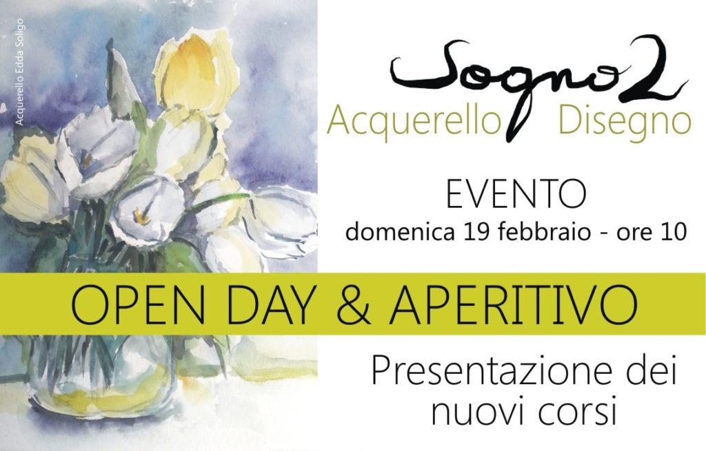 ACQUERELLO E DISEGNO: OPEN DAY & APERITIVO