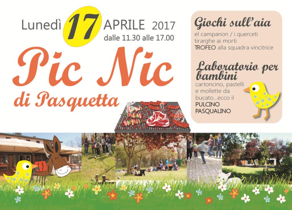 PIC NIC DI PASQUETTA 2017