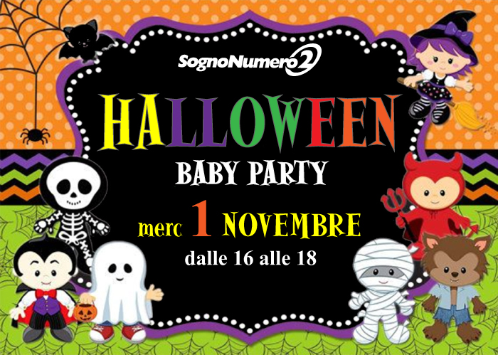 HALLOWEEN BABY PARTY 2017