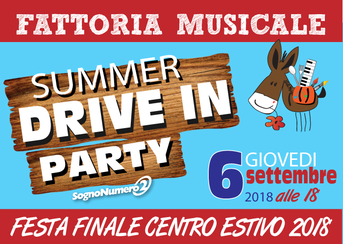 Summer DRIVE IN Party
