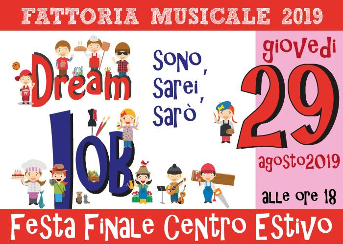 Festa Finale Centro Estivo 2019
