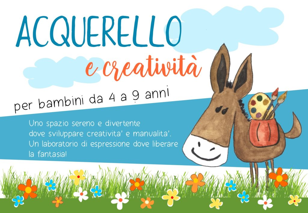ACQUERELLO E CREATIVITA'