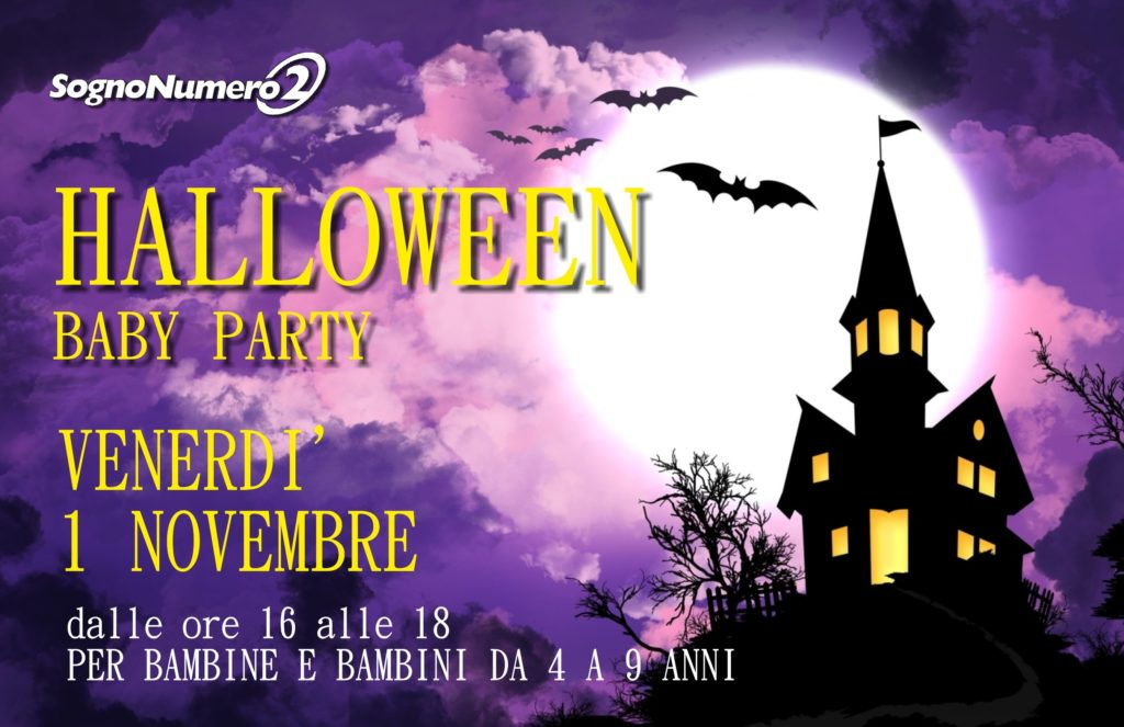 Festa di HALLOWEEN  BABY PARTY