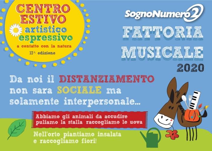 CENTRO ESTIVO TREVISO 2020 FATTORIA MUSICALE